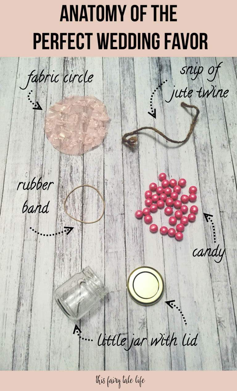 Anatomy of the Perfect Wedding Favor