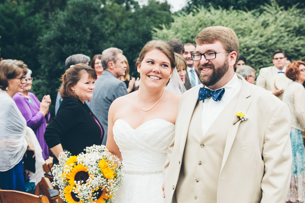 Ashley and David's Up Themed Wedding // Photo by High Five for Love