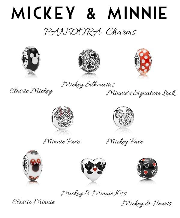 pandora minnie and mickey infinity charm