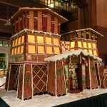 """A """"Grand"""" Addition to Holiday Time at The Disneyland Resort – Disney's Grand Californian Hotel Gingerbread House"""