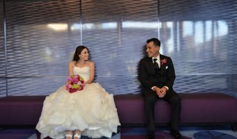 Jannette and Vincent's Fairy Tale Summer Disneyland Wedding // Photo by Stephan Arias