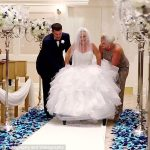 Walt Disney World Bride Defies Odds to Walk Down the Aisle