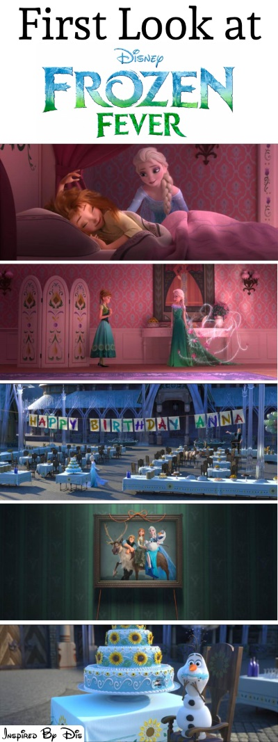 Elsa, Anna, and Olaf are Back in FROZEN FEVER