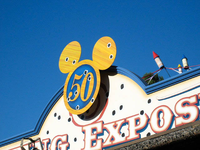 Flashback to Disneyland's Golden 50th Anniversary