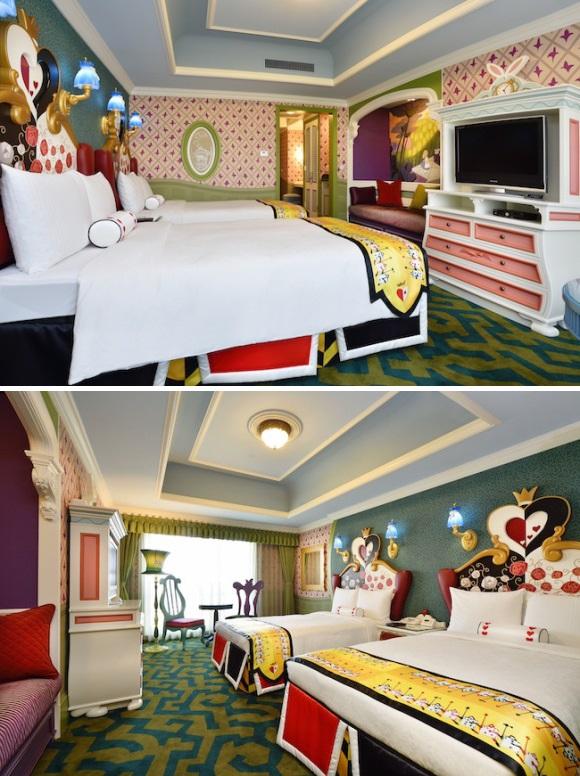 Hotel Room Envy -Tokyo Disneyland Hotel's New Themed Rooms
