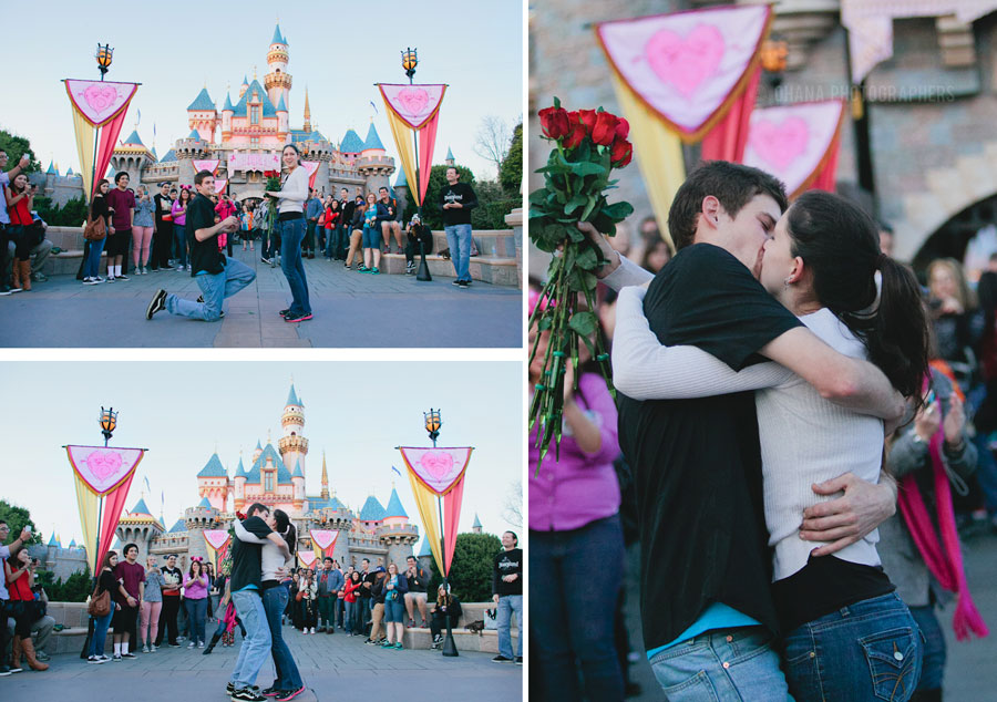 Happy National Proposal Day: Disney Style! Photo credit: Ohana Photographers