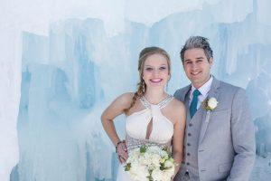 Frozen Wedding Styled Shoot // Ashleigh Rachel Photography