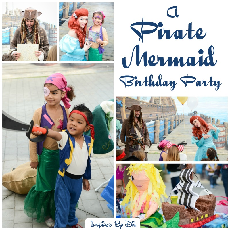 Lorelei's Pirate Mermaid Birthday Party // Ashley Richards Photography