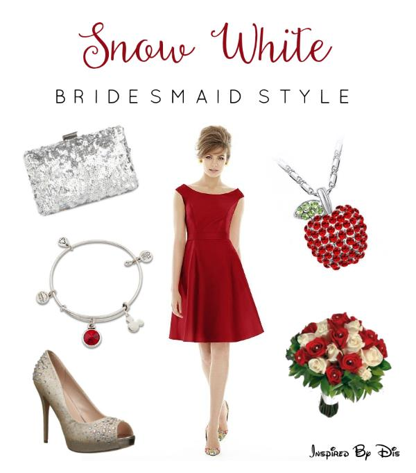 Snow White Bridesmaid Style