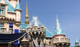 Disneyland 60 - Castle Progress