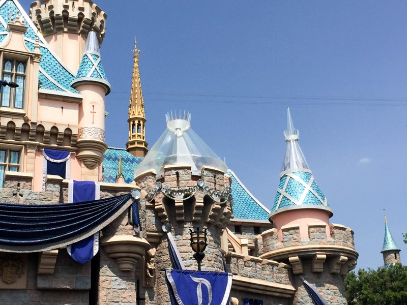 Disneyland 60 - Castle Progress