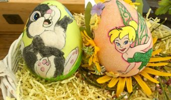 Disneyland's Painted Eggs for Easter