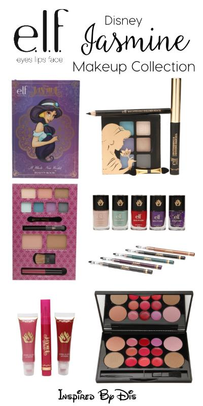 E L F Disney Jasmine Makeup Collection
