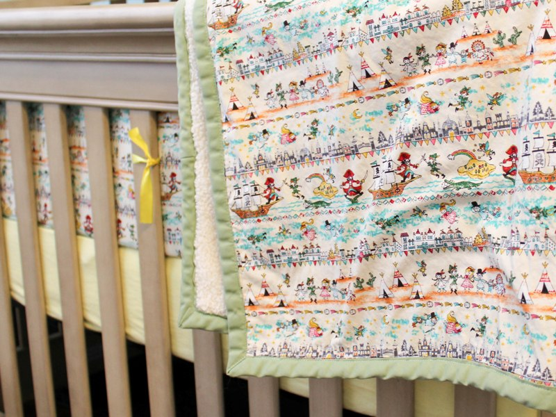 Peter Pan Baby Blanket.Peter Pan Nursery Bedding Verzorgingssalonjomi