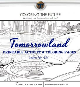 TOMORROWLAND Movie Fun Facts and Printable Activity Sheets