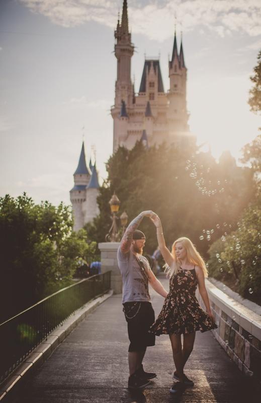 Magic Kingdom Honeymoon Session // Twig & Olive Photography