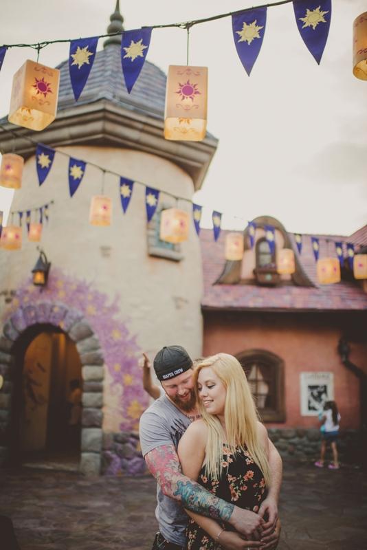 Walt Disney World Honeymoon Session // Twig & Olive Photography