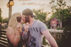 Lee and Becca's Magic Kingdom Honeymoon Session // Twig & Olive Photography