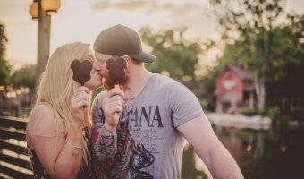 Lee and Becca's Magic Kingdom Honeymoon Session // Twig & Olive Photography