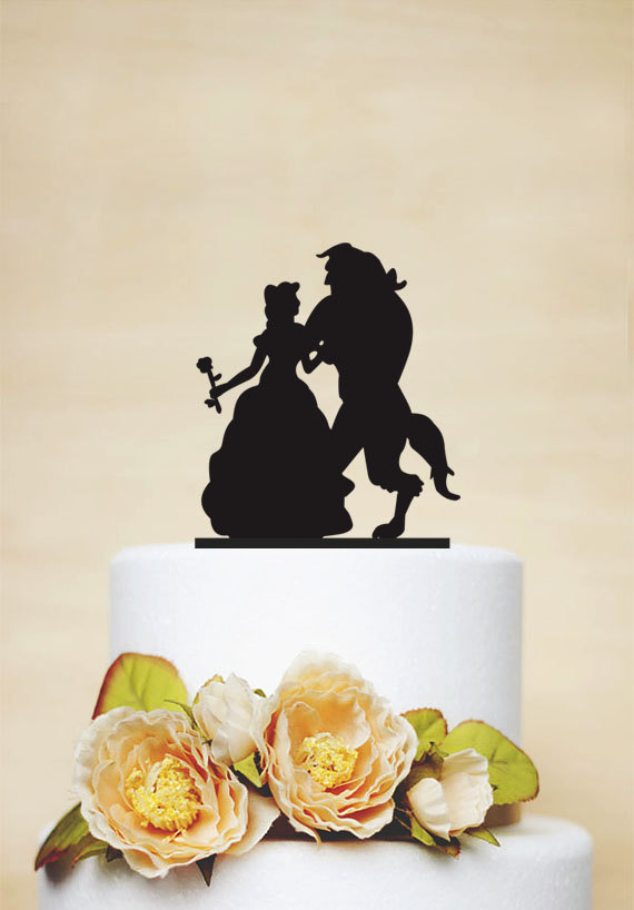 disney wedding cake toppers beauty and the beast 27 magical disney wedding cake toppers this tale 13592