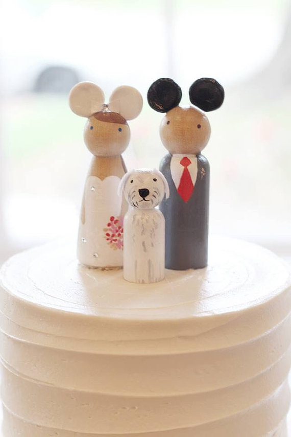 disney world wedding cake toppers 27 magical disney wedding cake toppers this tale 13601