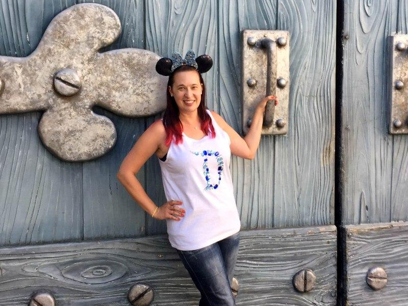 "Diamond ""D"" Disneyland 60 DIY Shirt"