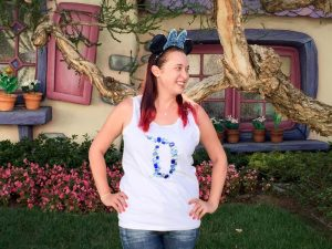 "Diamond ""D"" Disneyland 60 DIY Shirt"