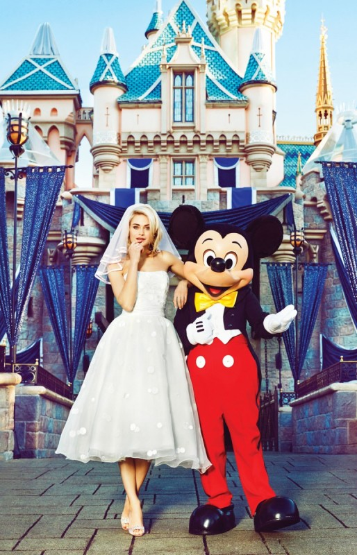 A Fairy Tale Styled Shoot at Disneyland