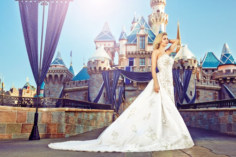 A Fairy Tale Bridal Styled Shoot at Disneyland