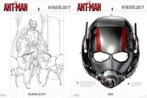 Ant-Man Activity and Coloring Pages