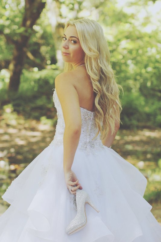 A Disney Princess Themed Best Friends Photo Shoot // Photo by Max Brasseal