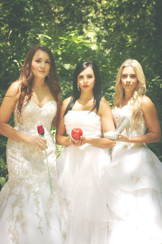 A Disney Princess Best Friends Photo Shoot // Photo by Max Brasseal