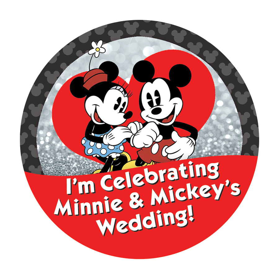 Where to Buy Personalized Disney-Themed Wedding Buttons