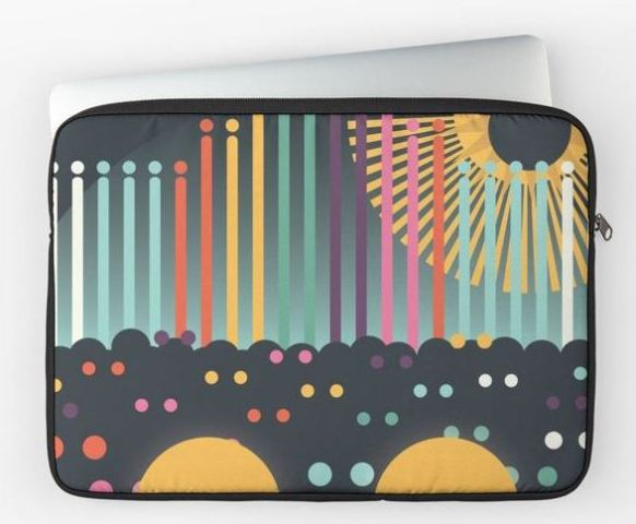 World of Color Laptop Sleeve