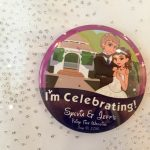 Where to Buy Personalized Disney Themed Wedding Buttons