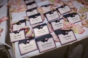 Basilica and Michael's Romantic Mickey and Minnie Wedding Details
