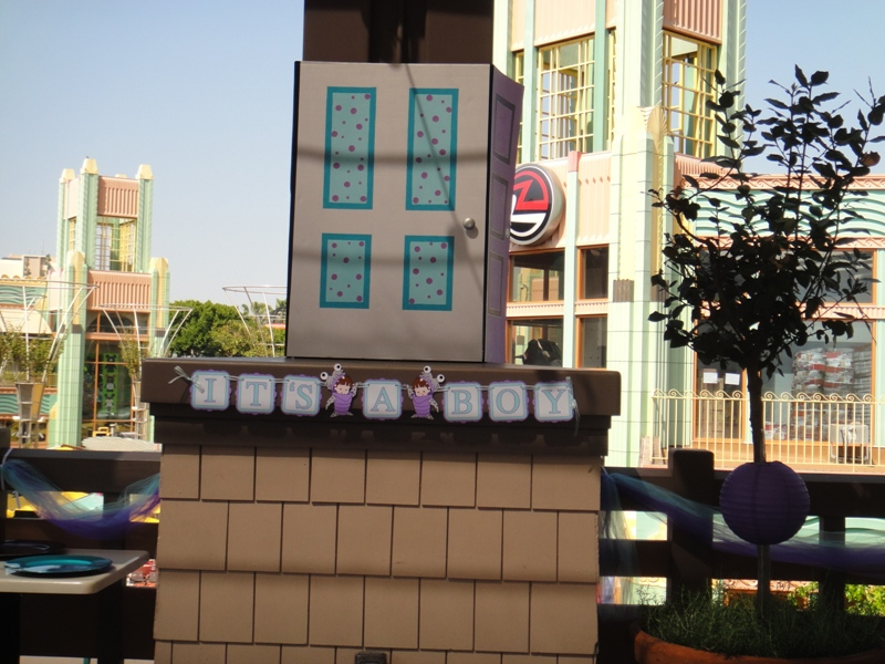 A Monster's Inc Baby Shower at Downtown Disney