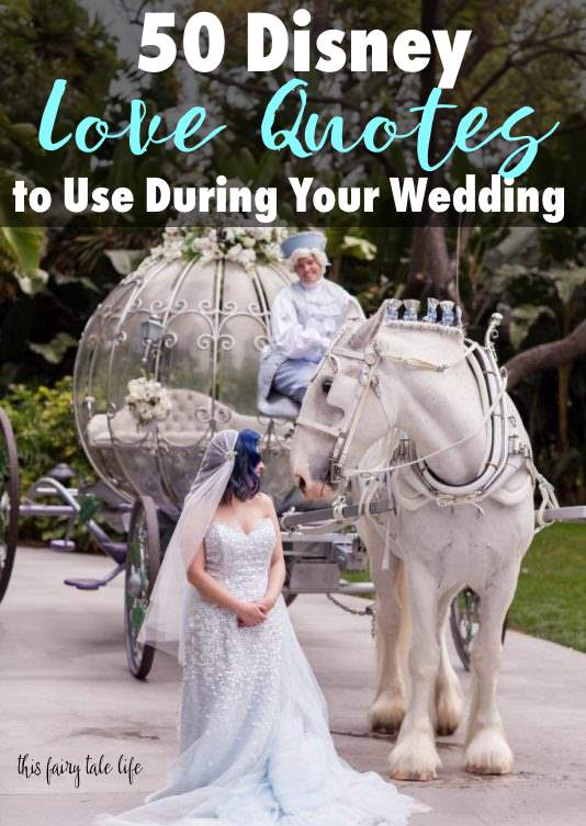 50 Disney Love Quotes for Your Wedding