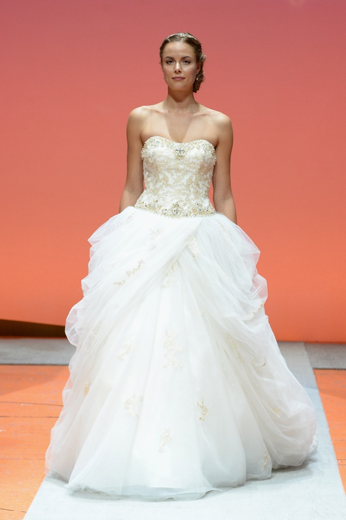 A Closer Look at the 2016 Disney Fairy Tale Weddings Bridal Collection from Alfred Angelo