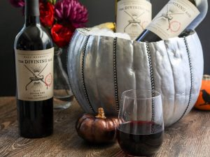 DIY Glam Pumpkin Wine Cooler