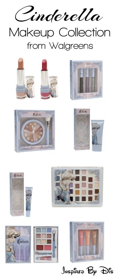 Online Exclusive Cinderella Makeup Collection from Walgreens