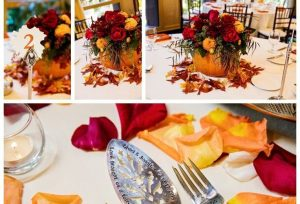 A Disney Wedding Fall Color Palette