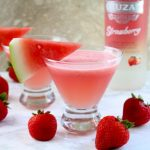 Strawberry Watermelon Lemonade Daiquiris