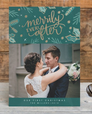 Shining, Shimmering, Splendid: Minted's Foil Cards are Perfect for the Holidays