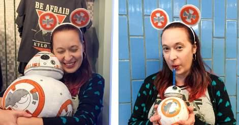 DIY STAR WARS BB-8 Mickey Ears