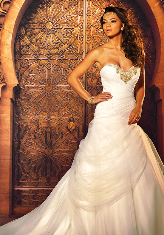 The 2016 Alfred Angelo Disney Fairy Tale Wedding Gowns - Jasmine