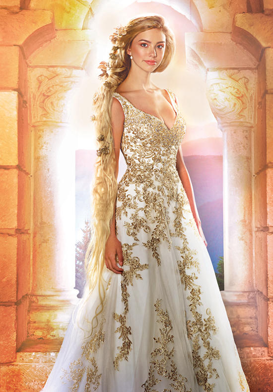 The 2016 Alfred Angelo Disney Fairy Tale Wedding Gowns - Rapunzel