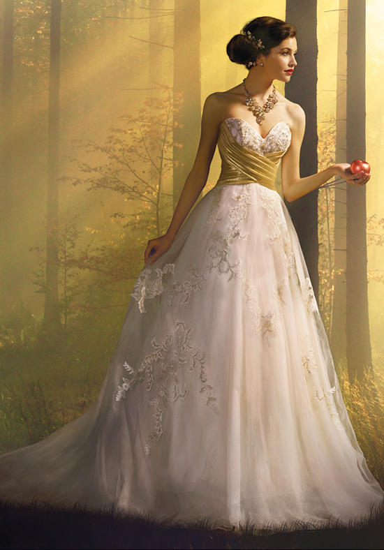The 2016 Alfred Angelo Disney Fairy Tale Wedding Gowns - Snow White