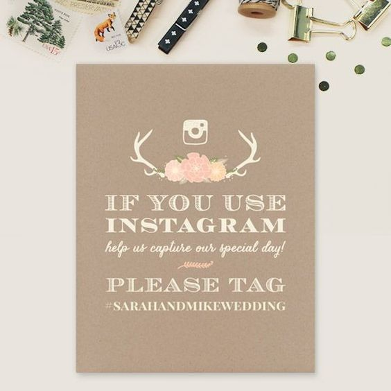 Cute Wedding Hashtags.How To Choose A Wedding Hashtag This Fairy Tale Life