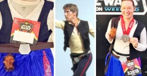 Easy DIY Han Solo Running Costume